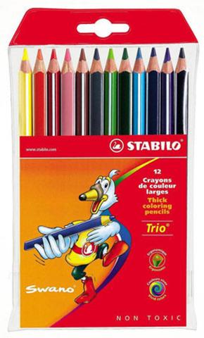 Набор утолщенных карандашей Swano Trio