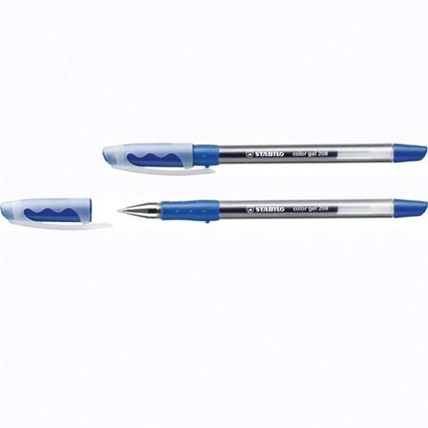 Ручка гелевая color gel 208