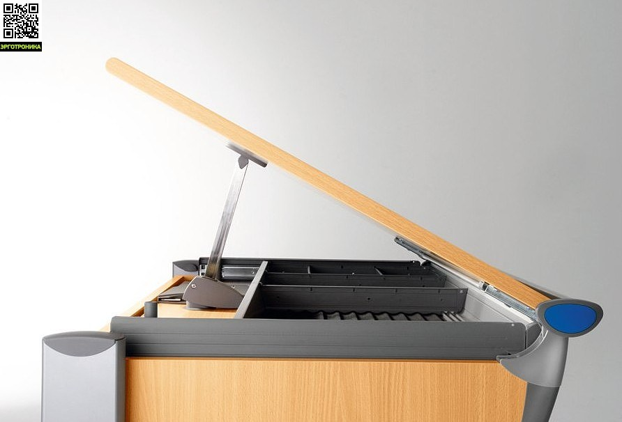 Парта-трансформер Runner Compact Регулировка угла наклона столешницы