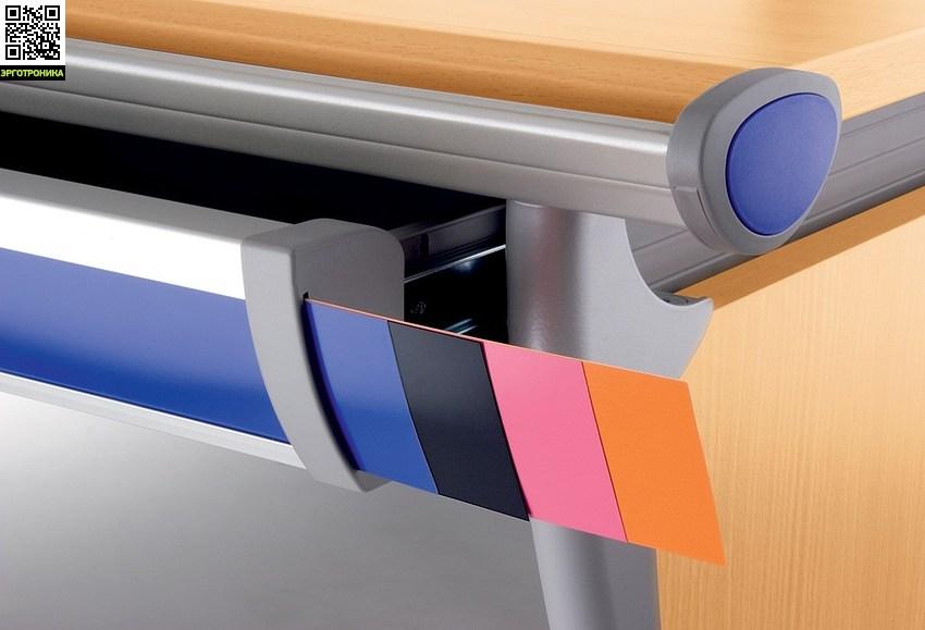 Парта-трансформер Runner Compact Разноцветные вставки