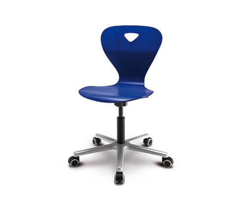Детский стул Woody M Синий цвет