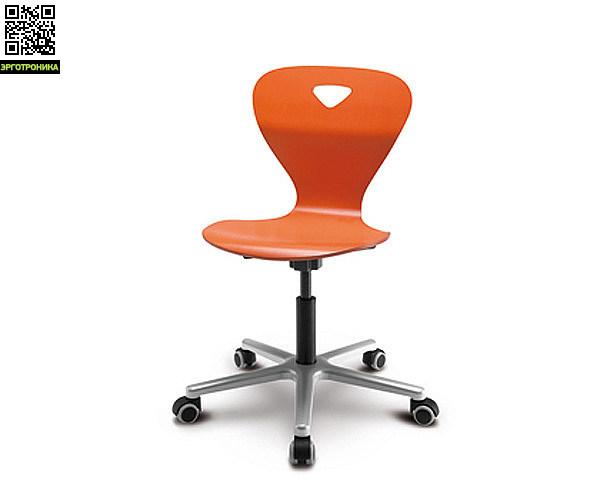 Детский стул Woody M Оранжевый цвет