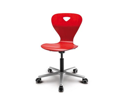 Детский стул Woody M Красный цвет