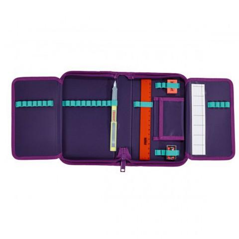 Ранец Scout Sunny BASIC с наполнением 4 предмета - Пурпурная бабочка
