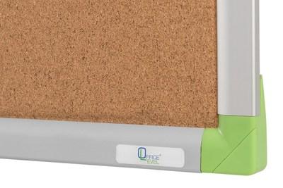 Пробковая доска в алюминиевой раме Office level 600х450мм