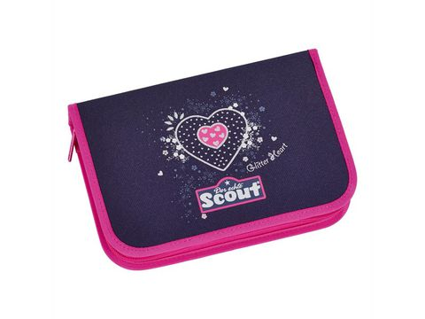 Ранец Scout Sunny EXKLUSIV с наполнением 4 предмета - Мерцающее сердце