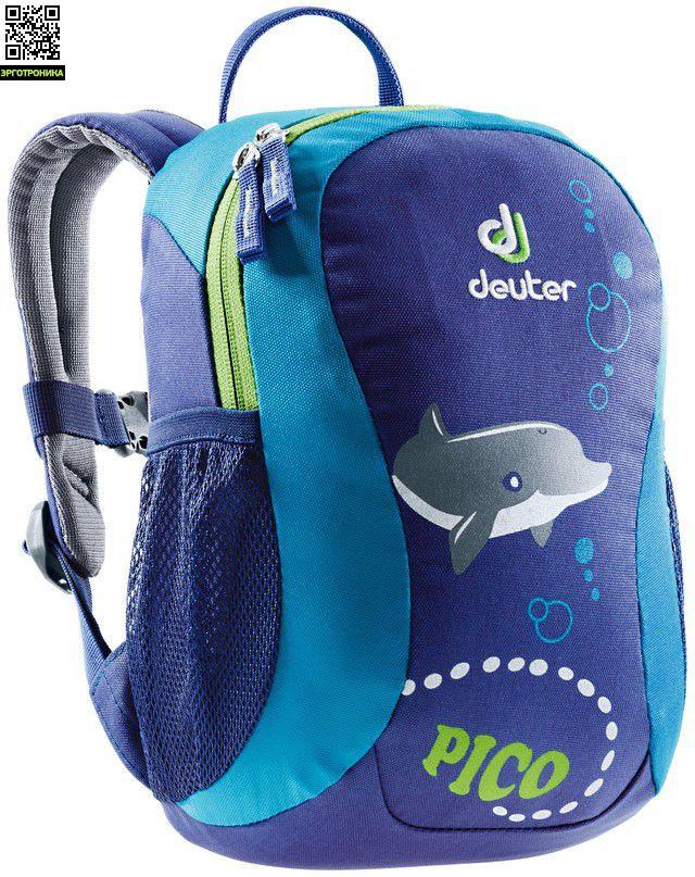 621e0a89526d Рюкзак детский Deuter Pico (Дельфин) купить за 1790 рублей. Отзывы ...